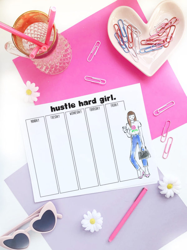 Free Printable Planner Babe pages! - Lacee SwanLacee Swan